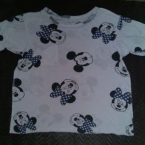 Disney Mickey Minnie comfy tee